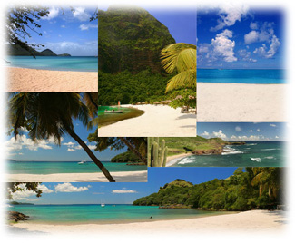 Collage of Saint Lucia